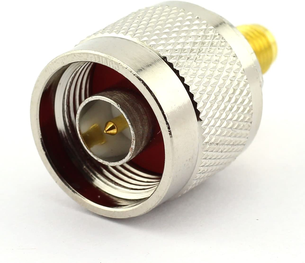 DGZZI 2-Pack N Male to RP SMA Female RF Coaxial Adapter N to SMA Coax Jack Connector