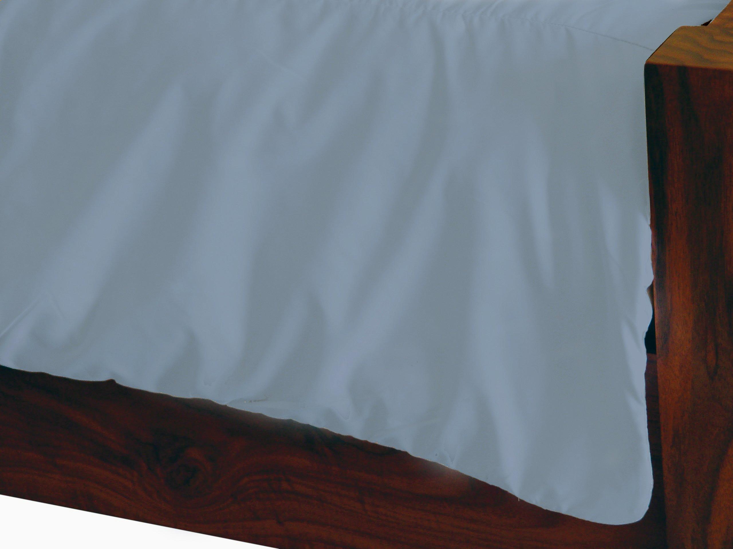 "Dust Mite- and Allergen-Proof Comforter Cover; ""Premium Microfiber"" (King; Blue/Gray)"