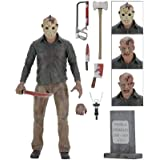 Jason Voorhees (Friday The 13th Part 4) 1/4 Scale 7 Inch Action Figure Toy Gift