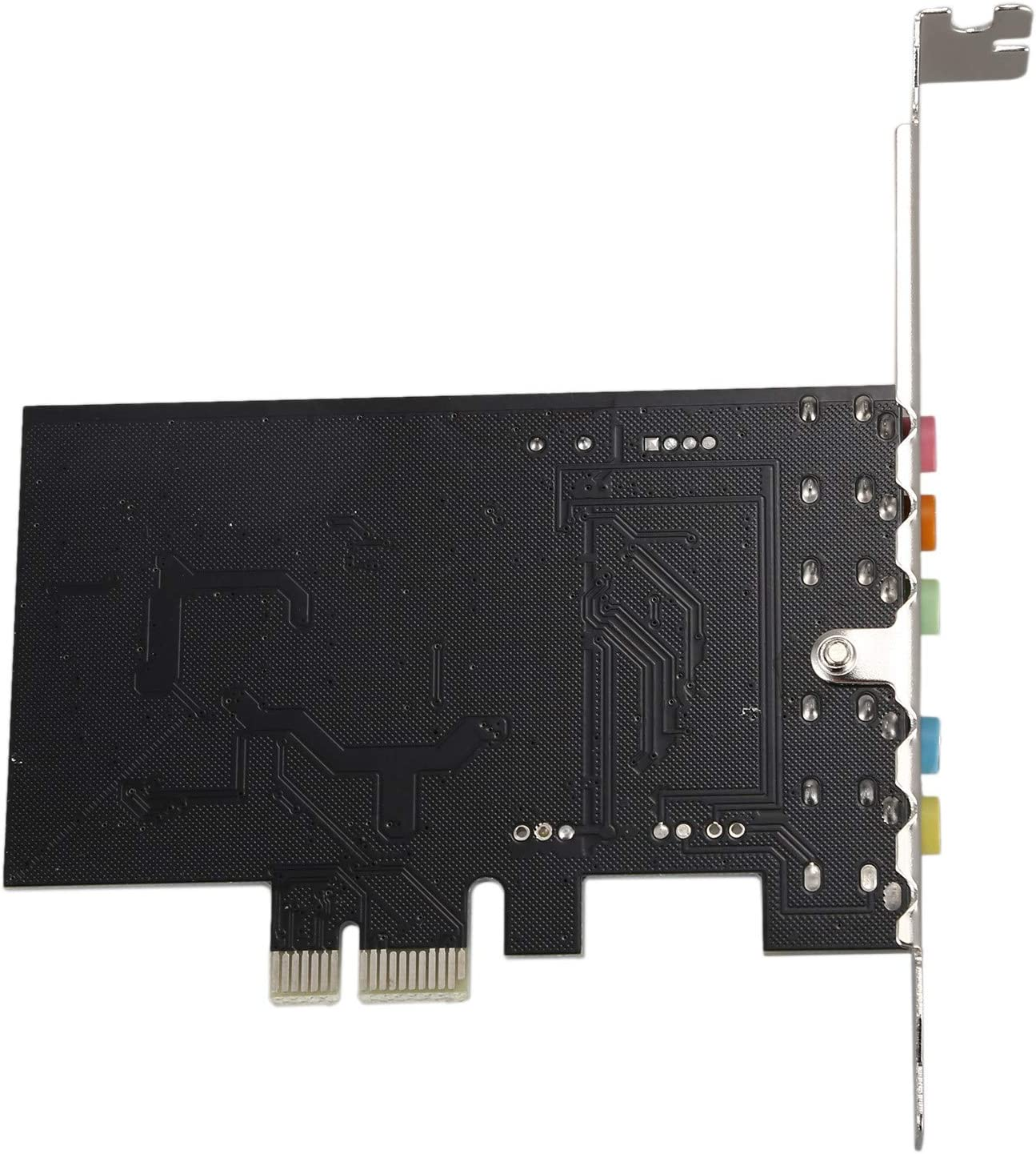 Monland PCI Express PCI-E 5.1 Channel 3D Audio 6 Channels Digital Sound Card For win XP