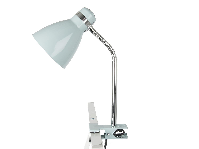 Metal 11 W E14 Leitmotiv Clip on Lighting Table Lamp Mouse Grey