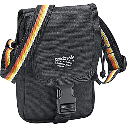 Adidas The Map Bag Bolso Bandolera, 25 cm, Negro