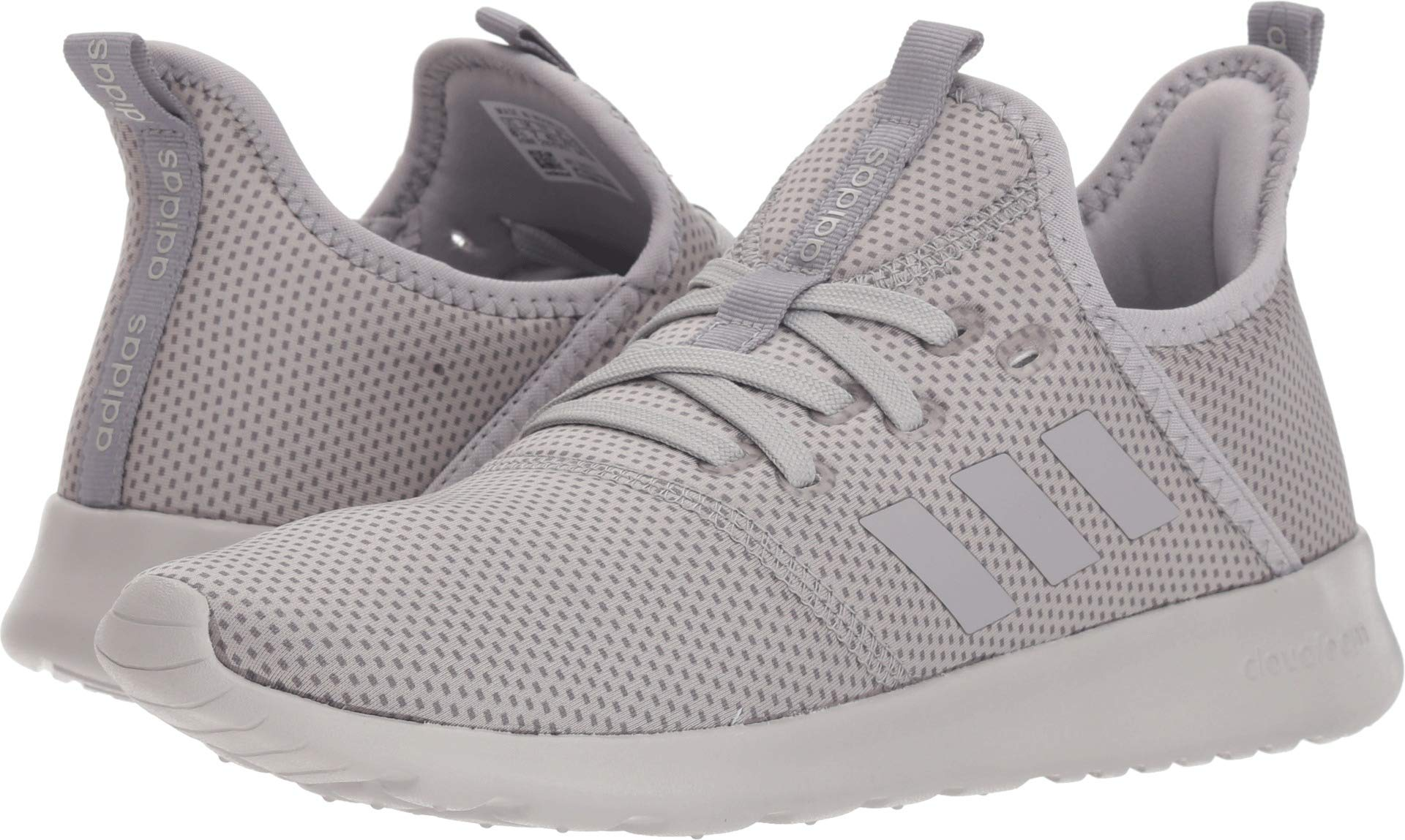 adidas Women's Cloudfoam Pure Grey Three/Light Granite/Grey Two/Winter Neoprene 7 M US