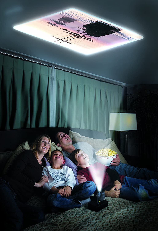 projector in bedroom.  Amazon com EyeClops Mini Projector Toys Games