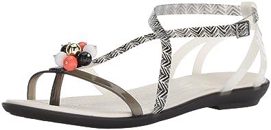b34542d1f Crocs Women s Drew Barrymore Isabella Gladiator Sandal Flat