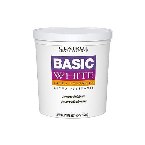Amazon Com Clairol Professional Basic White Lightener 16 Oz Premium Beauty