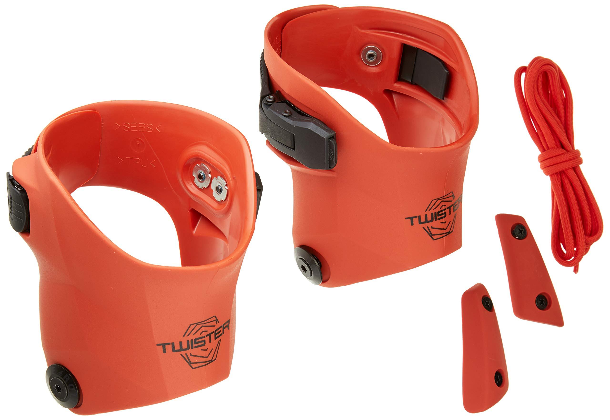 Rollerblade 068T1000305 Twister Edge Custom Kit, Size 7-8.5, Burnt Orange