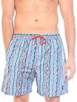 X80® Broski Neon Beach Shorts Men's