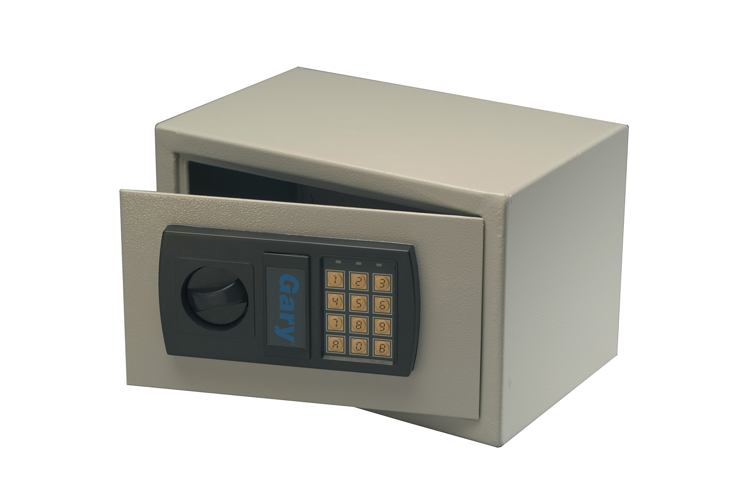 Gary by FireKing HS1207 Personal Electronic Fire Safe w/Bolt Kit, 7 3/4 x 12 1/4 x 7 3/4 Inches