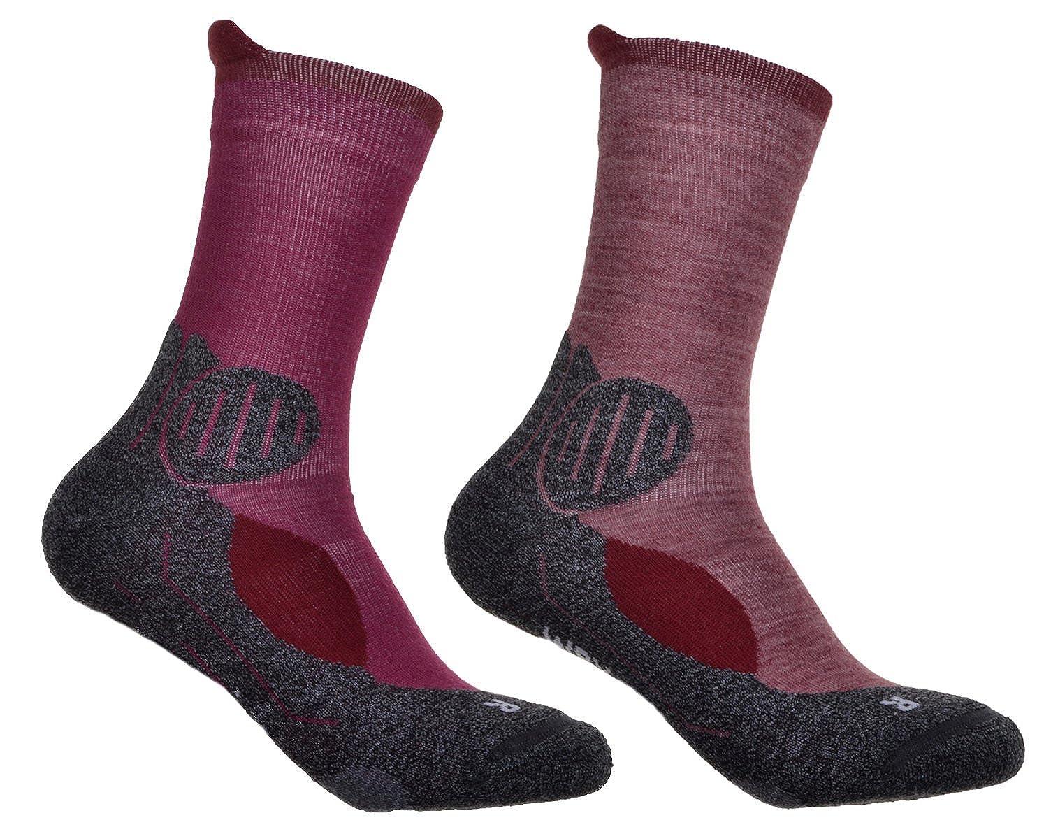 2 pairs of ladies walking socks Wool Blend Boot Winter socks