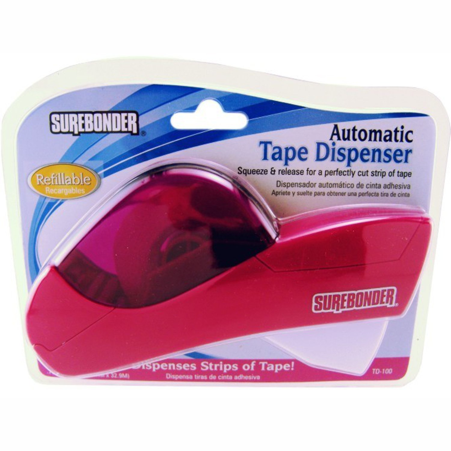 Surebonder TD-100 Automatic Tape Dispensor- Refills Available TD-100R product image