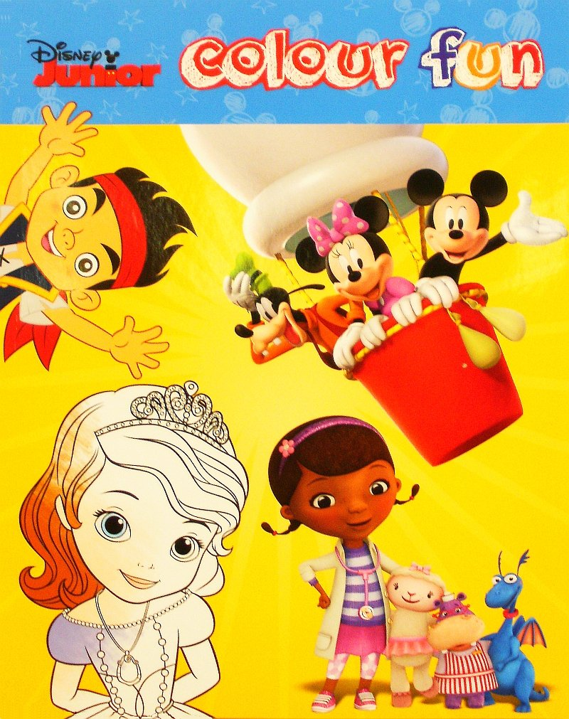 Disney Junior: Farbe Spaß Malbuch: Amazon.de: Spielzeug
