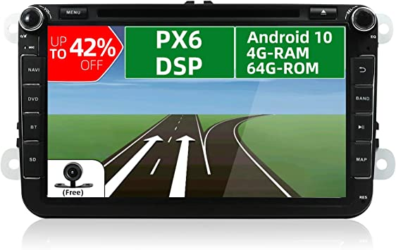 Joyx Px6 Dsp Android 10 Autoradio Passt Für Vw Passat Elektronik