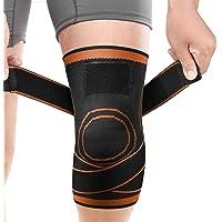 膝サポーター ATKOYO 加圧式 スポーツ サポーター 医療用 膝 固定 関節 靭帯 サポート 痛み緩和 損傷回復 怪我防止 男女 左右兼用 通気性 伸縮性 耐久性 登山 ランニング スポーツ