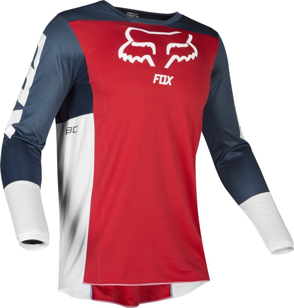 Fox Racing 2019 180 PRZM Jersey and Pants Combo Offroad Gear Set Adult Mens Navy//Red Medium Jersey//Pants 32W