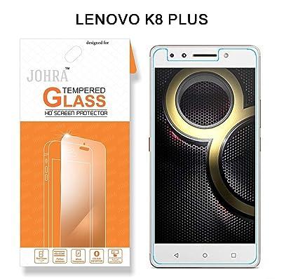 Johra Real HD+ Tempered Glass for Lenovo K8 Plus Tempered Glass - Lenovo K8  Plus Tempered Glass