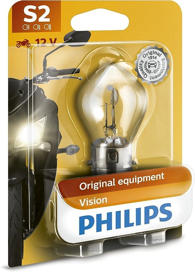Philips 12728bw Motorradscheinwerferlampe S2 1 Er Blister Auto