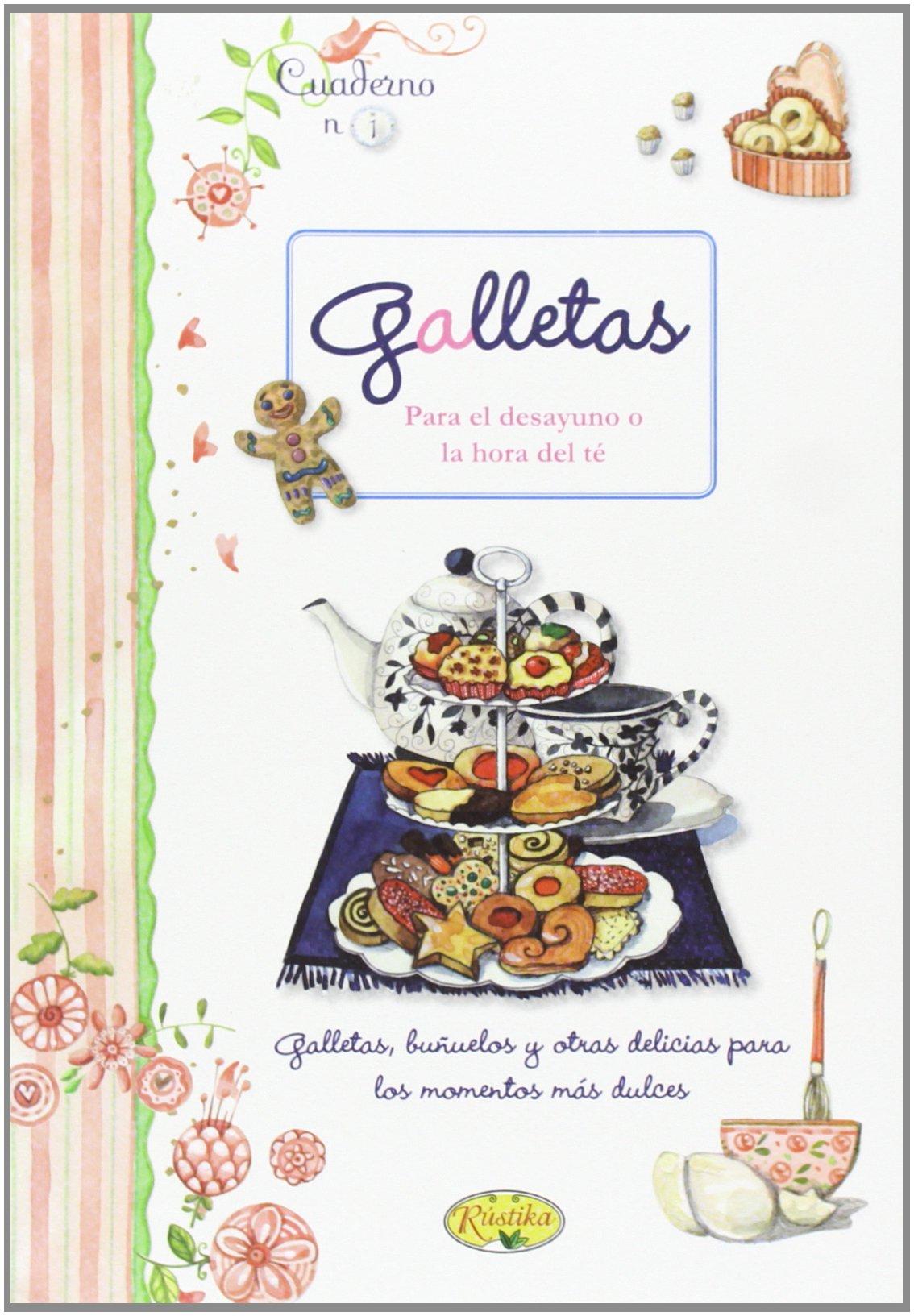 Galletas (Cuadernos de cocina): Amazon.es: Rústika, Selene ...