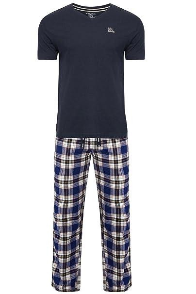 Tokyo Laundry - Pijama - para Hombre Azul Azul Oscuro X-Large