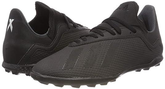 Amazon.com   adidas X Tango 18.3 Astro Turf Junior Football Trainers - Black   Soccer