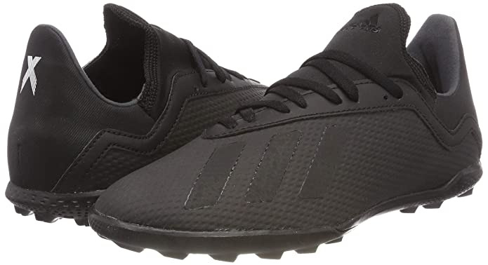 Amazon.com | adidas X Tango 18.3 Astro Turf Junior Football Trainers - Black | Soccer