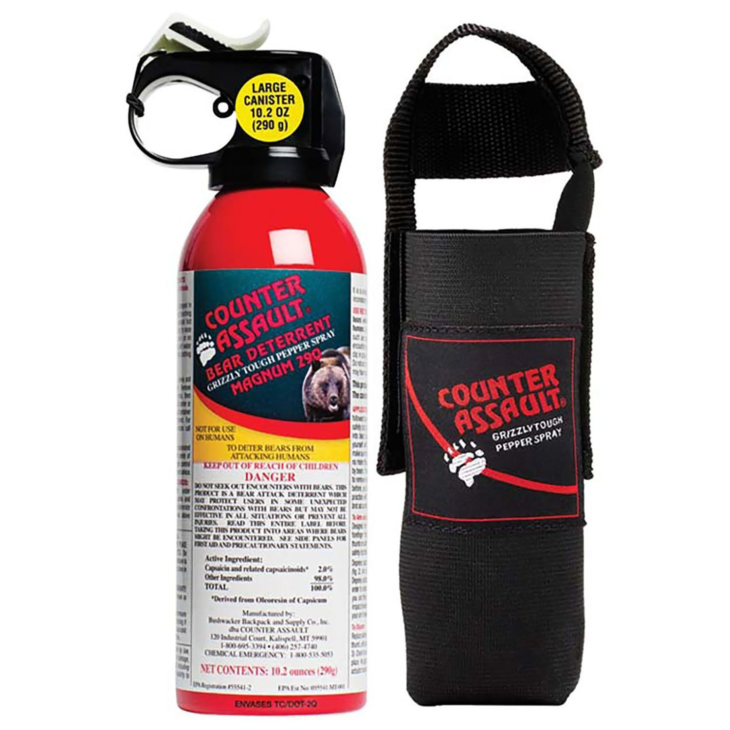 2. Counter Assault Bear Deterrent 10.2 oz.