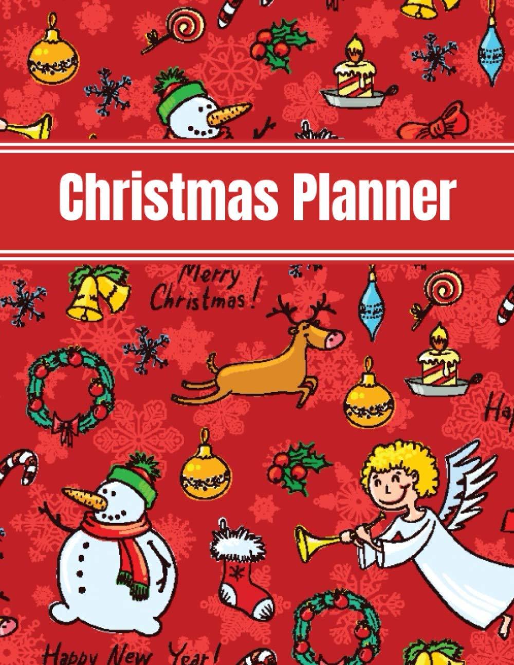 Christmas Planner 2020 Christmas Gift List Planner Organiser Holiday Planner To Do Lists Shopping Gift Present Bear Cover Design Happy Trendy Planner 9798696352367 Amazon Com Books