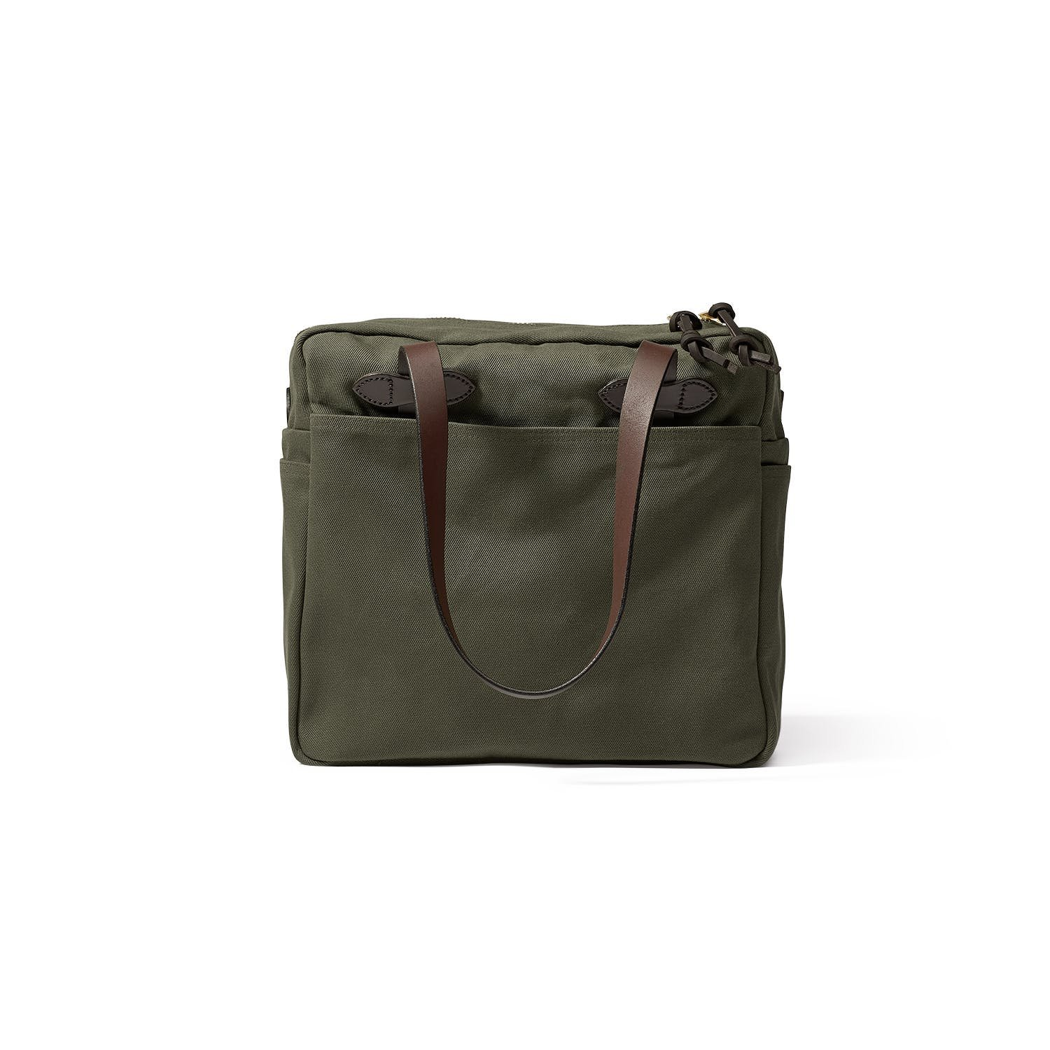 Filson Tote Bag with Zipper, Otter Green by Filson