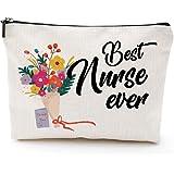 Nurse Gifts,Nursing Student Gifts for Women,Nurse Practitioner Gifts,Best Nurse Ever, Waterproof Cosmetic Bag