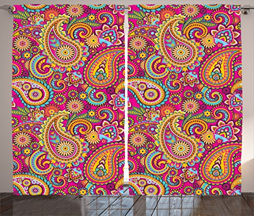 Curtains Ambesonne Authentic Patterns Traditional