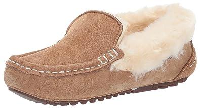 c45b3c52875d5e Lamo Womens Aussie Moc- Ladies Fashion Fur Lined Mocassin