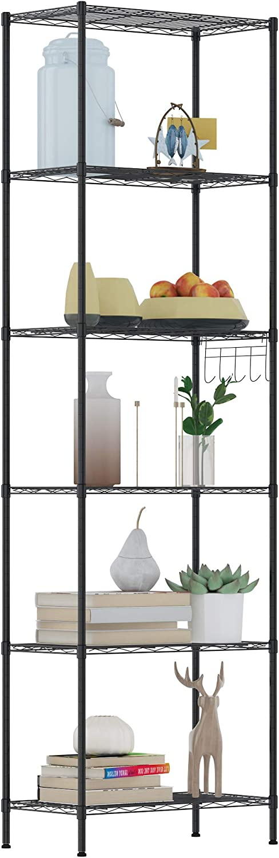 50% Off Coupon – 6 Tier Wire Shelving Unit Storage Shelves