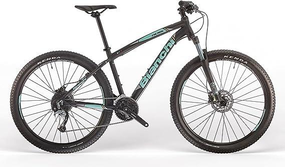 BIANCHI Mountain Bike 29 Duel 29S 27 V Negro/CK16/arancioneopaco ...