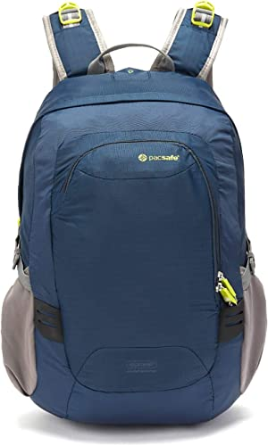 Pacsafe Venturesafe GII 25 Liter Anti Theft Travel Backpack Daypack Navy Blue
