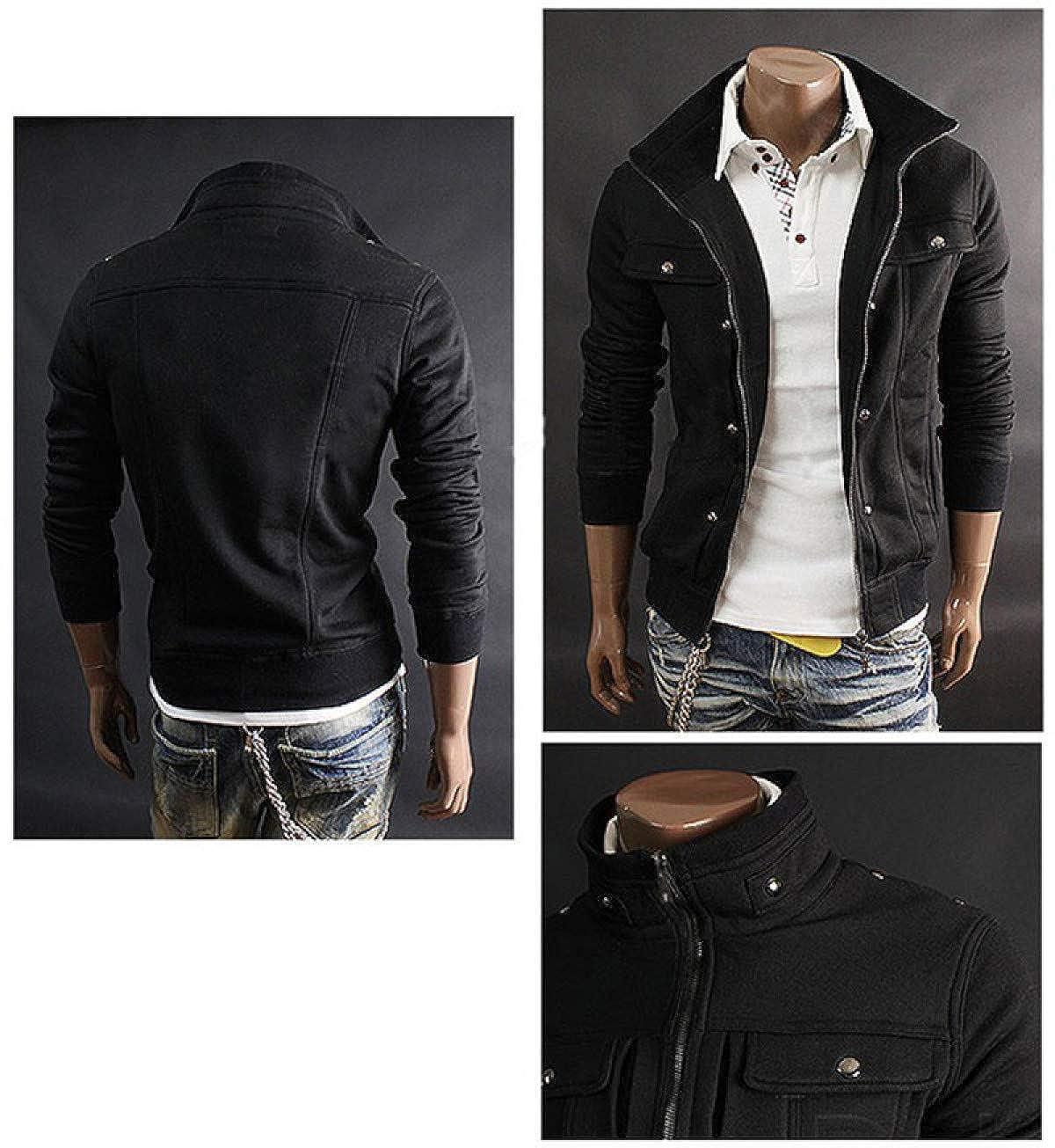 Amazon.com: Top Slim Mens Sweatshirt Casual Men Tracksuits Popular for Male Hoodie: Clothing