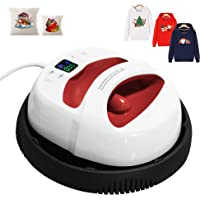 """12""""×10"""" Heat Press Machine for t Shirts with Temperature and Time Display Controller, Portable Hand Free Rapid Even Heat…"""