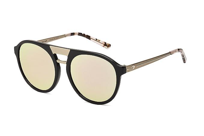 MORMAII Gafas de sol M0006 Tainah Juanuk, negro y metal con lentes dorada  rosa  Amazon.es  Ropa y accesorios 0944feb0fa