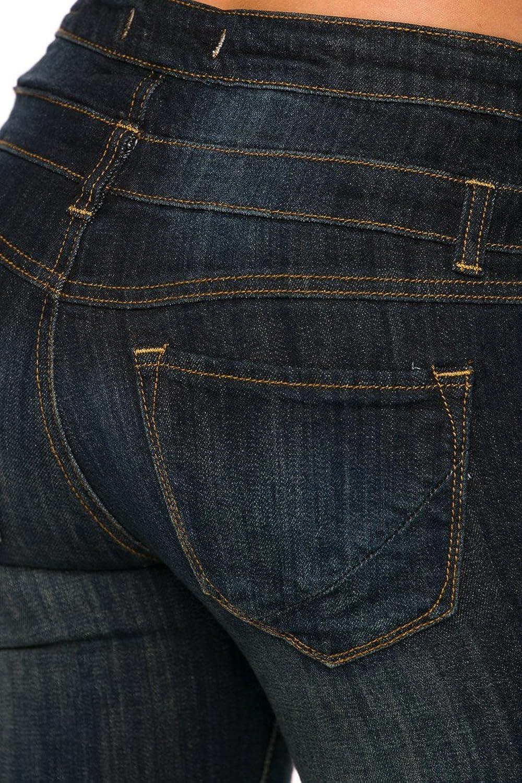 Cling Girl - Women's 3 Button Skinny