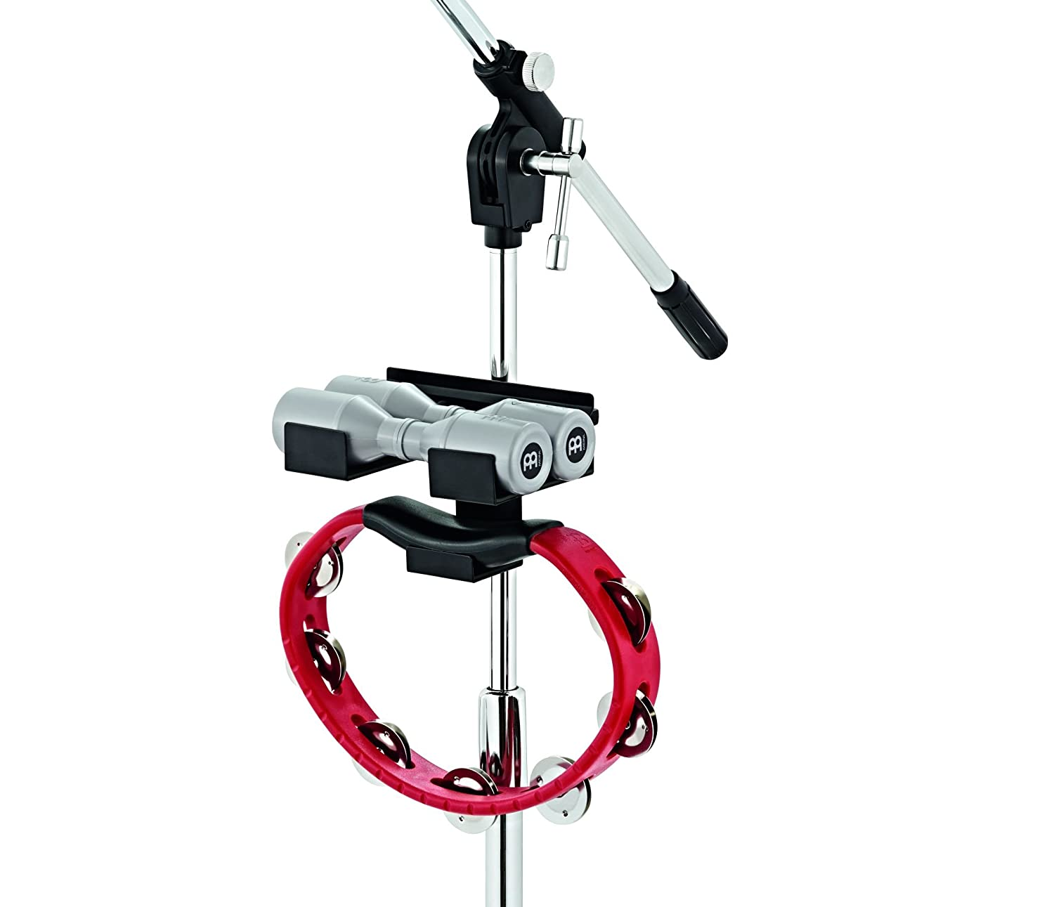 Meinl Percussion MC-SHTA Microphone Stand Percussion Accessory Mount for Tambourines and Shakers Meinl USA L.C.