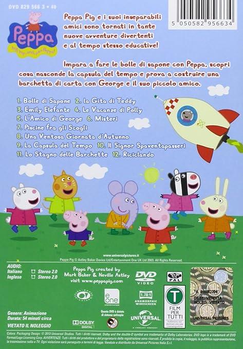 Amazon.com: Peppa Pig - Bolle Di Sapone [Italian Edition ...