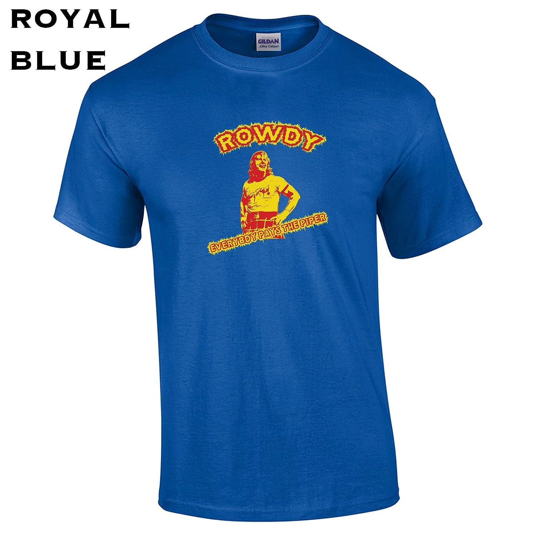 349 Rowdy Piper Funny Men鈥檚 T Shirt