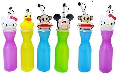 Shopkooky Birthday Gift For Kids Boys Girls Cute Mickey Shape Cap Sipper
