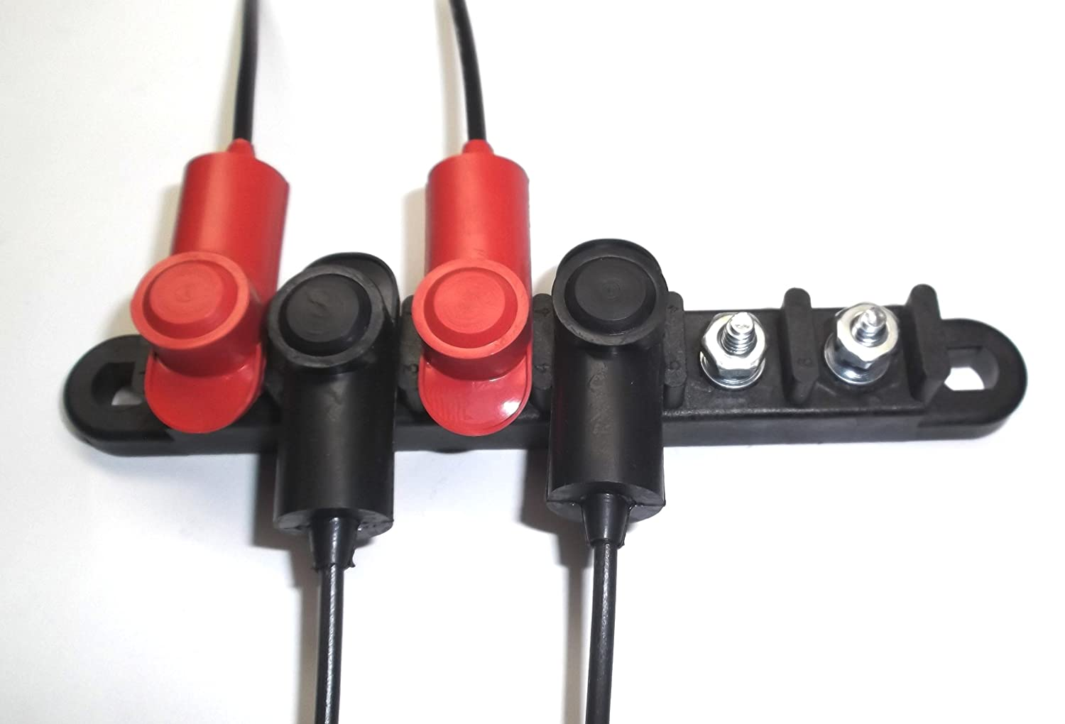 Fastronix 3//16 Small Stud Terminal Covers Red and Black Fastronix Solutions