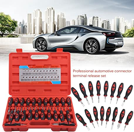 23Pcs//Set Car Wire Terminal Connector Release Removal Tool Crimp Pin Extractor