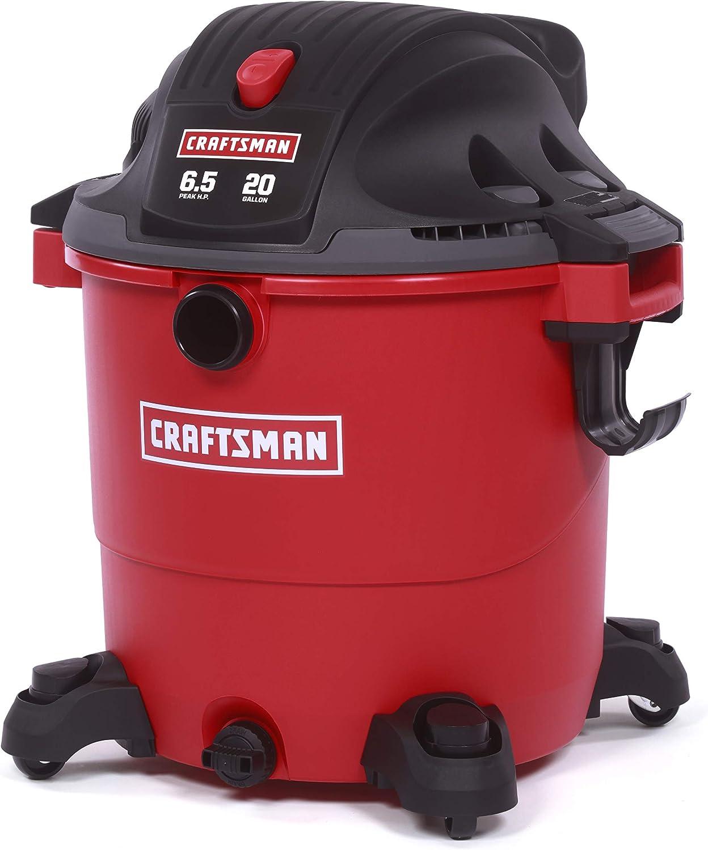 Power & Hand Tools Craftsman XSP 20 Gallon 6.5 Peak HP Wet/Dry Vac ...