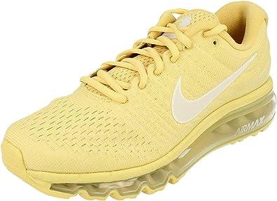 NIIKE Air MAX 2017 SE Lemon Wash/Pure Platinium, Zapatillas de Gimnasia para Mujer: Amazon.es: Zapatos y complementos