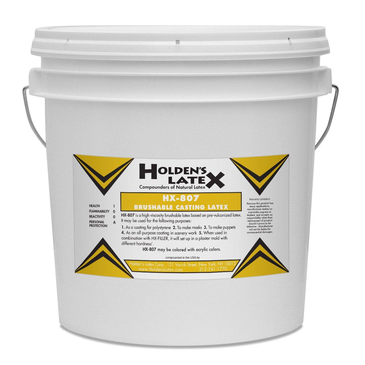 HX-807 Brushable Mask Making & Casting Latex (2 Gallon Bucket)