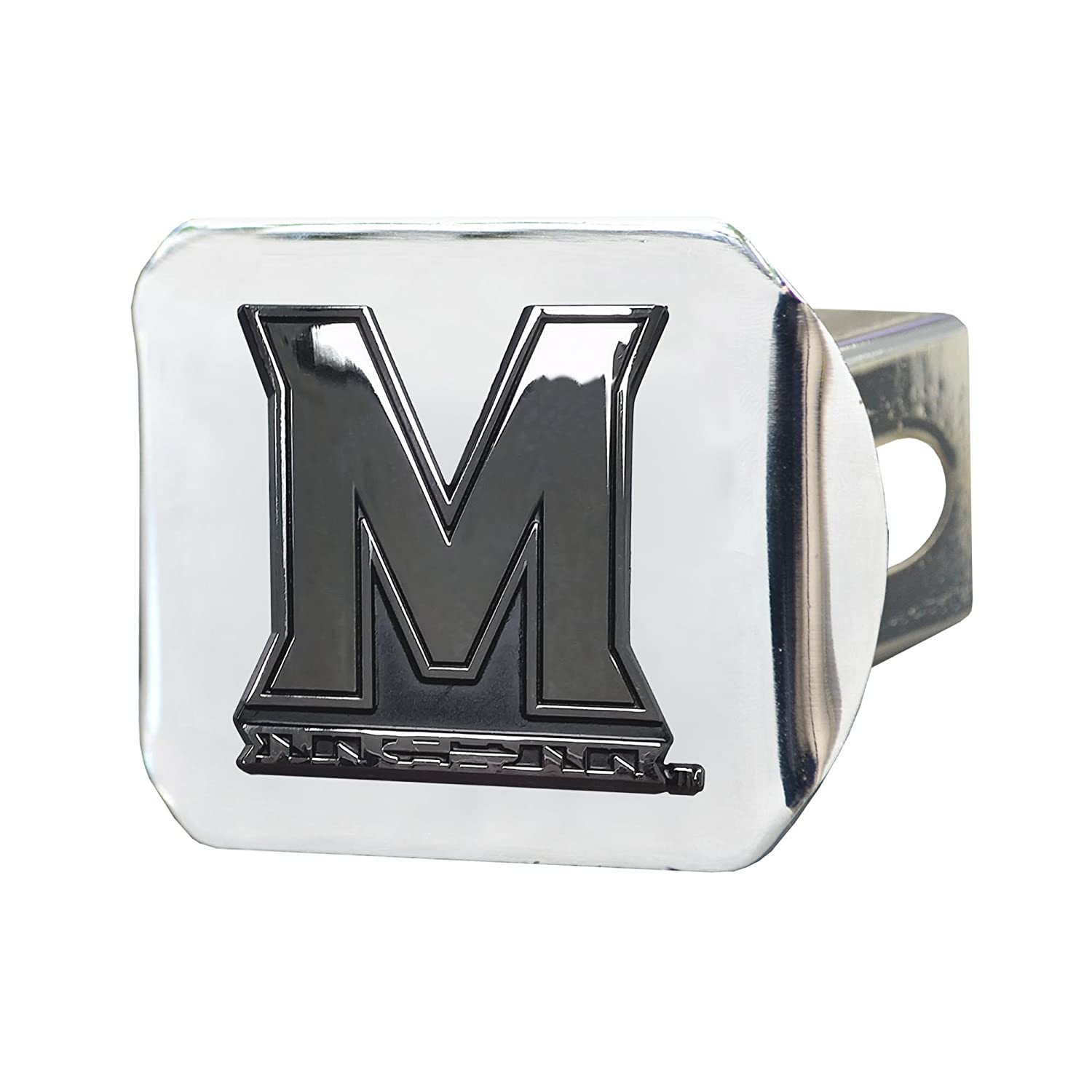 FANMATS NCAA University of Maryland Terrapins Chrome Hitch Cover 15112