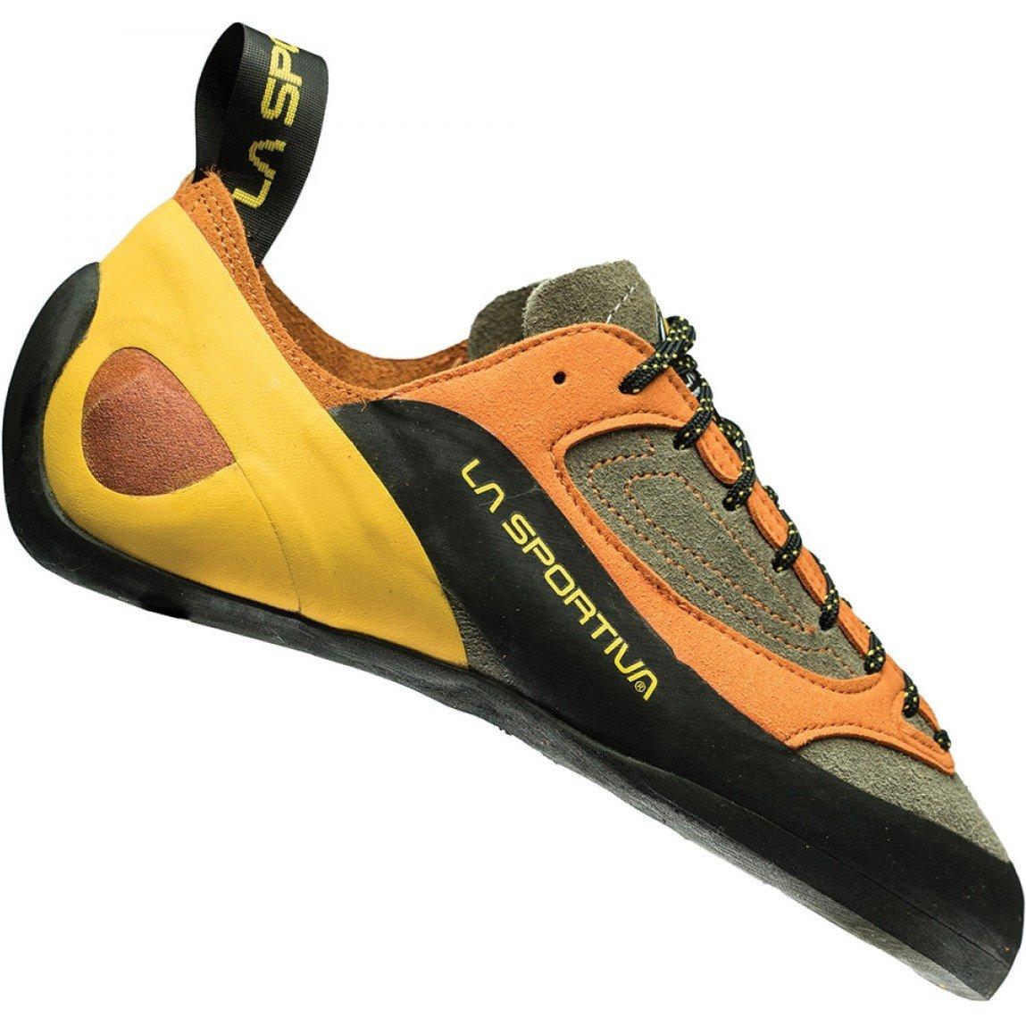 La Sportiva Finale Climbing Shoes 13.5 B(M) US Women/12.5 D(M) US Brown Orange by La Sportiva