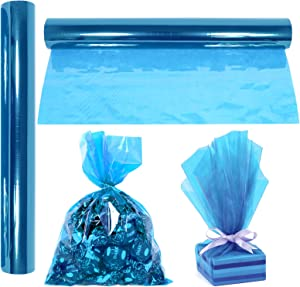 """Cellophane Wrap Roll Blue 